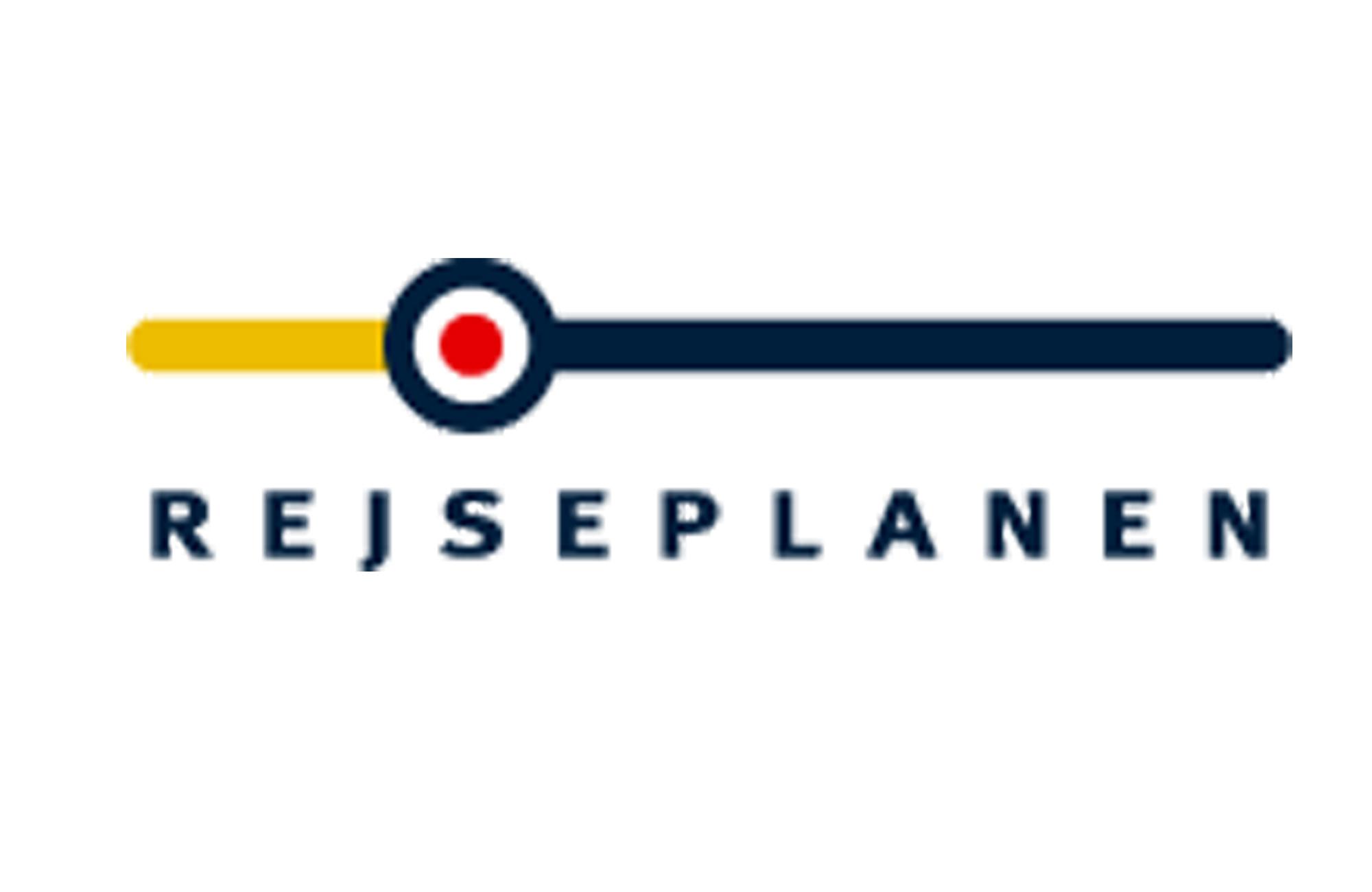 Logo for rejseplanen.dk