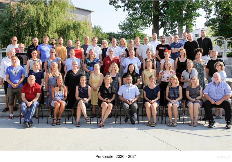 Billede af personale årgang 2020 til 2021