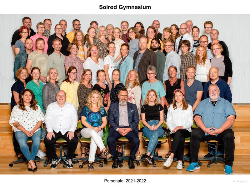 Gruppebillede af personalet 2021